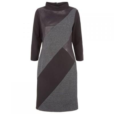 ジュームズ レイクランド James Lakeland レディース ワンピース ワンピース・ドレス Cowl Neck Panel Dress Black