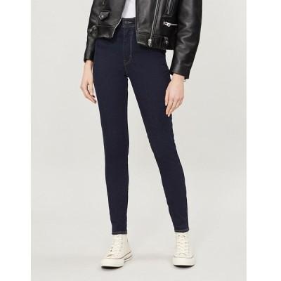 リーバイス LEVI'S レディース ジーンズ・デニム ボトムス・パンツ Mile High super-skinny high-rise jeans CELESTIAL RINSE