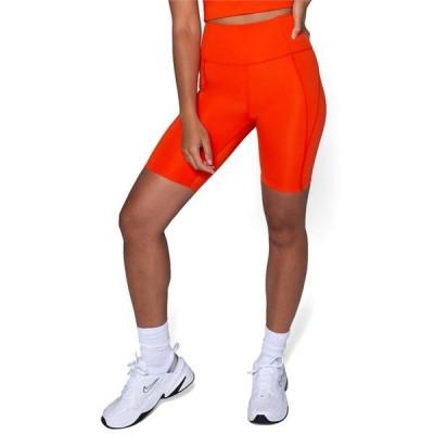 ガールフレンドコレクティブ レディース カジュアルパンツ ボトムス Girlfriend Collective High-Rise Bike Shorts - Women's