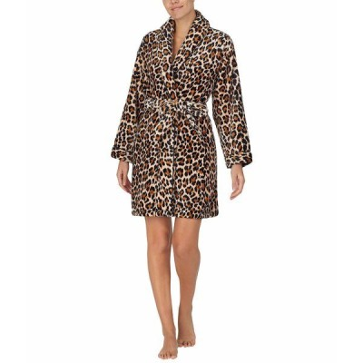 ケイト スペード ナイトウェア アンダーウェア レディース Chenille Wrap Robe Leopard