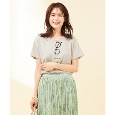 エニィファム(any FAM)/【定番人気】メガネ Tシャツ