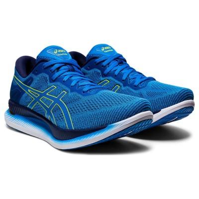 アシックスアウトドア グライドライド GLIDERIDE 1011A817 401 ジョギング マラソンブルー