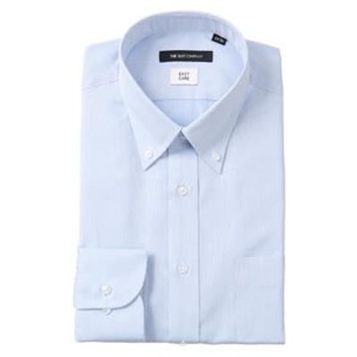 ※ボタンダウンカラードレスシャツ 織柄 〔EC・BASIC〕