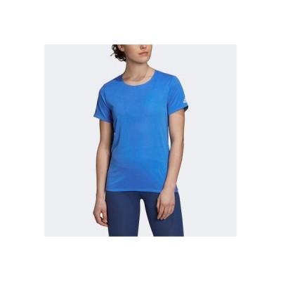 アディダス adidas HEAT. RDY 半袖Tシャツ (ブルー)
