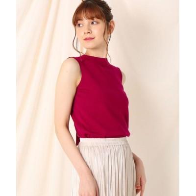 Couture Brooch/クチュールブローチ 【セットアップ可/洗える】リボンタイ2WAYプルオーバー ペルシアンレッド(074) 38(M)