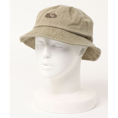CO / FRUIT OF THE LOOM /  LOGO PIGMENT BUCKET HAT-14735400 MEN 帽子 > ハット