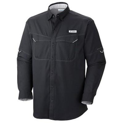 (取寄)コロンビア メンズ ロウ ドラッグ オフショア ロングスリーブ シャツ Columbia Men's Low Drag Offshore LS Shirt Black