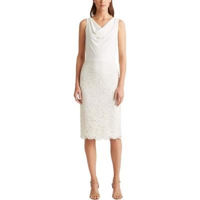 ラルフ ローレン LAUREN Ralph Lauren レディース ワンピース ワンピース・ドレス Aditianna Dress Matte Ivory