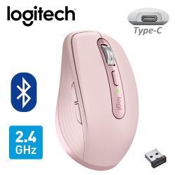 【Logitech 羅技】MX ANYWHERE 3 無線滑鼠 玫瑰粉