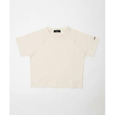 COMME CA ISM/コムサイズム DICカラー半袖Tシャツ 乳白 120cm