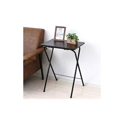 [送料無料] [山善] テーブル ミニ 折りたたみ サイドテーブル 幅50奥行48高さ70cm
