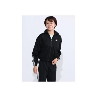 アディダス adidas レディース 長袖ジャージジャケット WMHTRACKジャケット FR5109 (ブラック)