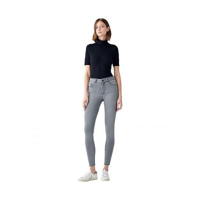 "DL1961 ディーエル1961 レディース 女性用 ファッション ジーンズ デニム 30"" Florence Skinny Mid-Rise Instasculpt in Storm - Storm"