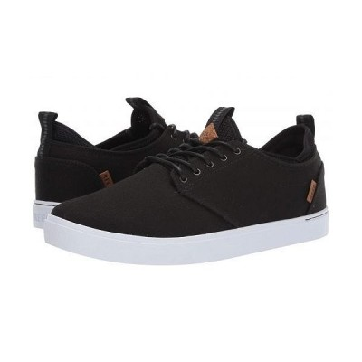 Reef リーフ メンズ 男性用 シューズ 靴 スニーカー 運動靴 Discovery - Black/White
