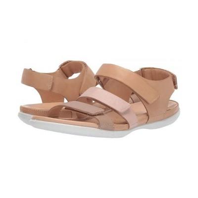 ECCO エコー レディース 女性用 シューズ 靴 サンダル Flash Flat Sandal - Dune/Rose Dust/Powder Cow Nubuck/Cow Nubuck/Cow Nubuck