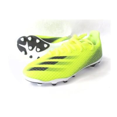 アディダス adidas サッカースパイク エックス ゴースト.3 HG AG J FW6975 ソーラーイエロー コアブラック チームロイヤルブルー 23606