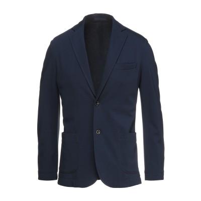 クルーナ CRUNA テーラードジャケット ブルー 46 レーヨン 69% / ナイロン 26% / ポリウレタン 5% テーラードジャケット