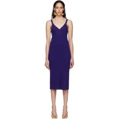 ハイダー アッカーマン Haider Ackermann レディース ワンピース キャミワンピ ワンピース・ドレス Blue Midi Camisole Dress Durero blue