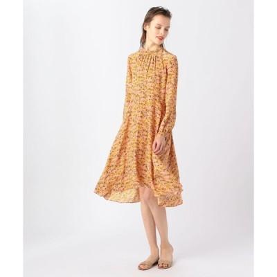 【TOMORROWLAND BUYING WEAR】【別注】NO.6×TOMORROWLAND シルク フラワープリントドレス