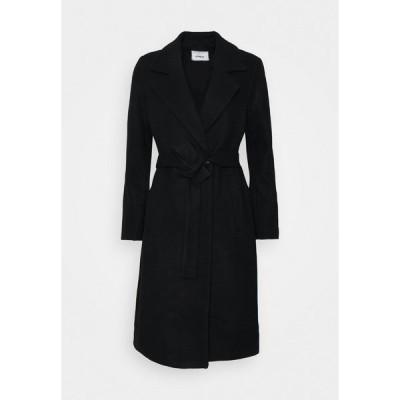 オンリー コート レディース アウター ONLGINA WRAP COAT  - Classic coat - black