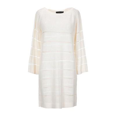 レ コパン LES COPAINS ミニワンピース&ドレス アイボリー 40 コットン 100% ミニワンピース&ドレス