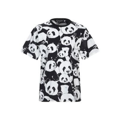 ドルチェ & ガッバーナ DOLCE & GABBANA T シャツ ブラック 44 コットン 100% T シャツ