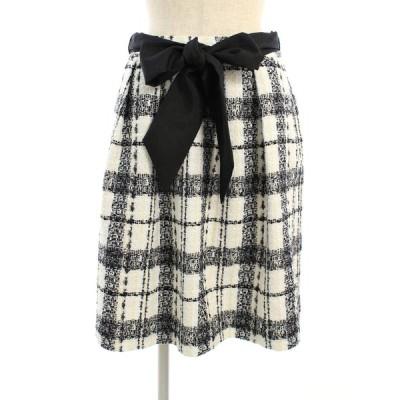 トゥービーシック スカート ツイード チェック 40