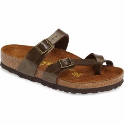 ビルケンシュトック BIRKENSTOCK レディース サンダル・ミュール シューズ・靴 Mayari Birko-Flor Sandal Golden Brown