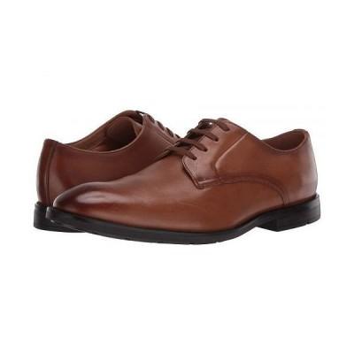 Clarks クラークス メンズ 男性用 シューズ 靴 オックスフォード 紳士靴 通勤靴 Ronnie Walk - Tan Leather