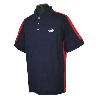 プーマ PUMA メンズ ポロシャツ#501467 ネイビー (13時までの注文は当日発送 土日祝日は除く)