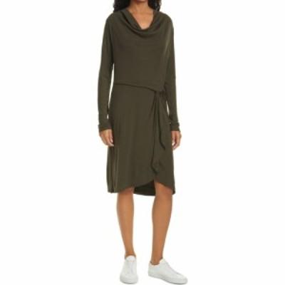 テッドベーカー TED BAKER LONDON レディース ワンピース ワンピース・ドレス Faustaa Long Sleeve Jersey Dress Khaki