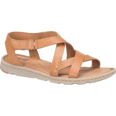 ボーン レディース サンダル シューズ Trinidad Strappy Sandal Tan Full Grain Leather