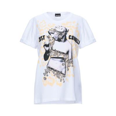 ジャストカヴァリ JUST CAVALLI T シャツ ホワイト XS コットン 100% T シャツ