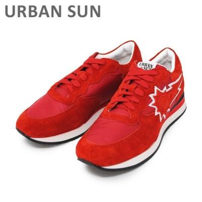 アーバンサン スニーカー DORIS 110 レッド URBAN SUN レディース シューズ 靴