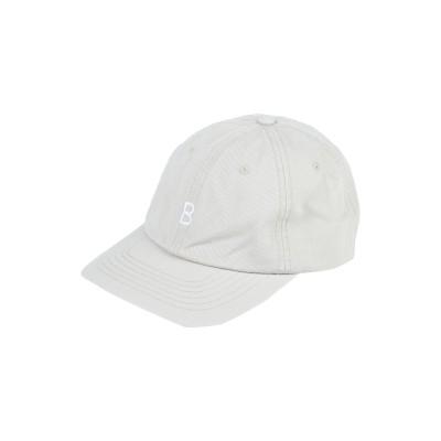 バンドオブアウトサイダーズ BAND OF OUTSIDERS 帽子 ベージュ one size コットン 100% 帽子