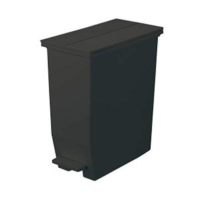 リス SOLOW フタ付きゴミ箱 ペダルオープンツイン 35L ブラック GSLW004 ソロウ