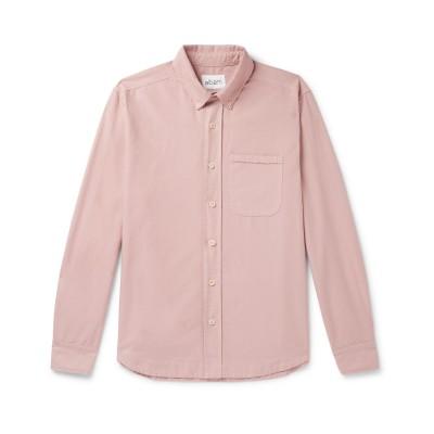 ALBAM シャツ パステルピンク XL コットン 100% シャツ