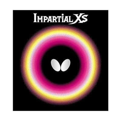 バタフライ 卓球 ラバー インパーシャルXS カラー:ブラック サイズ:アツ (00420/278)