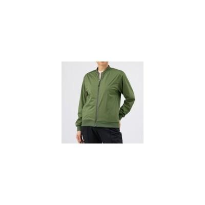 MIZUNO ミズノ テックシールドジャケット レディース アウトドアウエア トラベル チャイブグリーン B2MC9751 36