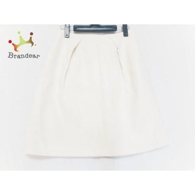 マッキントッシュフィロソフィー スカート サイズ36 M レディース アイボリー       スペシャル特価 20200927
