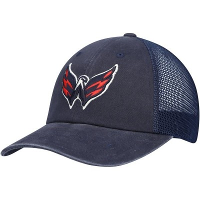 アメリカンニードル メンズ 帽子 アクセサリー Washington Capitals American Needle Raglan Bones Adjustable Hat