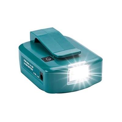 (新品)  Hipoke ADP05 USB Makita Battery Adapter with Upgraded LED Light, Power Sour