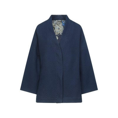 ゲス GUESS テーラードジャケット ブルー XS コットン 100% テーラードジャケット