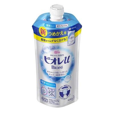 花王 ビオレU  ボディウォッシュ フレッシュフローラルの香り  詰替え用 340ml 石鹸・ボディソープ