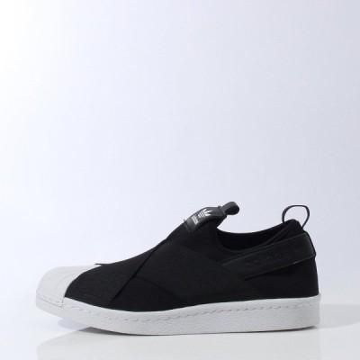 日本国内正規品 アディダス adidas オリジナルス スーパースタースリッポン[SS Slip On W] ブラック/ブラック/ホワイト S81337