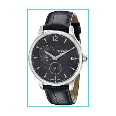 Tissot Men's TIST0636391605700 Tradition Analog Display Swiss Quartz Black Watch【並行輸入品】