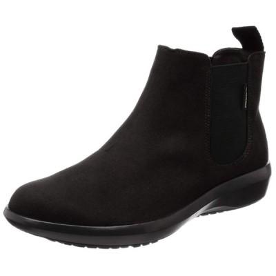 [アサヒ トップドライ] ブーツ レイン 防水性 ゴアテックス サイドゴア TDY-3970 ブラック 23.5 cm 3E