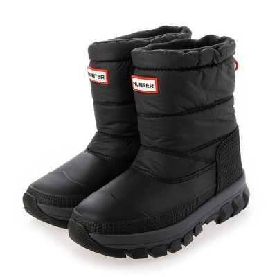 HUNTER(ハンター) HUNTER(ハンター)MENS ORIGINAL INSULATED SNOW ANKLE BOOT 27.0cm BLK メンズ MFS9133WWU-BLK-8