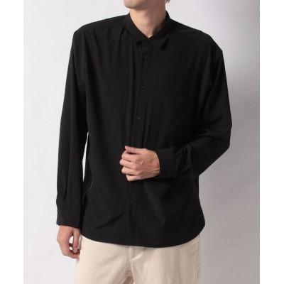 【ウィゴー】 ドロップショルダーカラーシャツ メンズ ブラック M WEGO