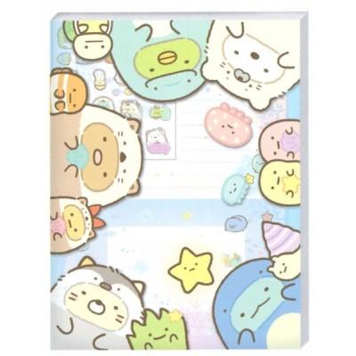 すみっコぐらし すみっコとうみっコテーマ ケース入レターセット LH67001